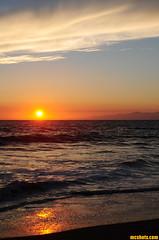 FierySea (mcshots) Tags: ocean california sunset sea summer sky usa sun beach nature water clouds evening coast stock shoreline socal mcshots swells losangelescounty