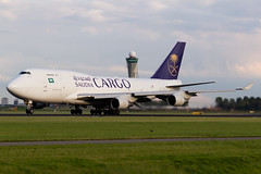 Saudi Arabian Airlines Cargo | Boeing 747-400SF | TC-ACJ | 20.08.2014 | Amsterdam - Schiphol (Maciej Deli) Tags: amsterdam airport aviation cargo saudi boeing arabian airlines schiphol 747 freighter b747 b744 polderbaan 747400sf b74f tcacj