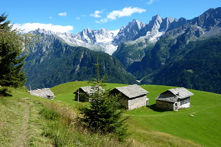Blick zur Alp Tombal