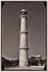 Agra IND - Taj Mahal Minarett 03