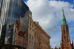 Old Gertrude Church in Riga, Latvia. August 30, 2014 (Vadiroma) Tags: city building church architecture europe capital religion officebuilding baltic latvia riga lettland 2014 rga latvija baltikum oldgertrudechurch