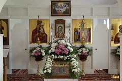2. Первое богослужение в с.Никольское