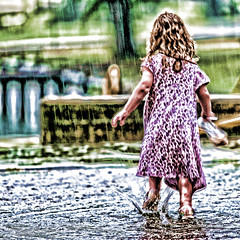 phpNt2KVT (Southernpixel - Alby Headrick) Tags: summer nature water girl rain weather clouds squall umbrella puddle outside rainyday cloudy stormy rainy raindrops rainstorm littlegirl laughter raining pouring picoftheday rainydays instagood