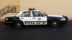 Las Vegas Metro Police Ford Crown Victoria
