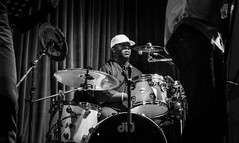 Funky Drummer. (Presence Inc) Tags: street portrait people urban bw festival night photography dance singapore action sony performance streetphotography nightlife society rx100 rx100m3 subcullture