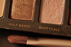 Half Baked Bootycall (J-Fish) Tags: macro makeup brush cosmetics halfbaked sephora bootycall 105mmf28dmicro d300s nakedpalette