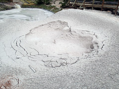 Artists Paintpots (northeastern pit) (late afternoon, 6 June 2014) 1 (James St. John) Tags: artists paintpots paintpot mudpot mudpots paint mud pot pots hill gibbon geyser yellowstone hotspot volcano wyoming chemical weathering sulfuric acid