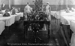 Southampton Infirmary, St Lawrence Ward (robmcrorie) Tags: history st hospital lawrence union patient health national doctor nhs shirley service british warren nurse ward southampton healthcare infirmary workhouse incorporation
