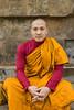 Monk at Sarnarth, Uttar Pradesh (wandervox) Tags: india nikon buddha buddhist monk buddhism holy varanasi enlightenment dharma pilgrimage ganges uttarpradesh 2470 gautama d700 sarnarth