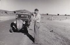 Tom in Ethiopia 1953 (Bury Gardener) Tags: bw blackandwhite oldies old 1950s ethiopia africa snaps 1953