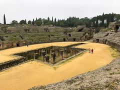 Roman Amphitheater of Italica (ldvphotos) Tags: travel turismo gameofthrones seville sevilla anfiteatro anfiteatros itálica