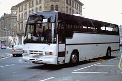 Hulme Hall, Cheadle Hulme 515 VTB (ex E574 UHS) (SelmerOrSelnec) Tags: hulmehall cheadlehulme volvo b10m plaxton 515vtb e574uhs manchester corporationstreet parkhamilton coach bus gmbuses charterplan gmbusessouth
