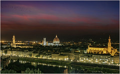 Under A Blood Red Sky (Giovanni Giannandrea) Tags: florence sunset firenze italia toscana sky underabloodredsky