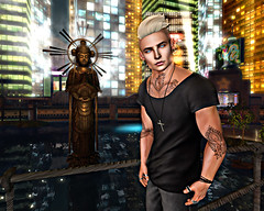 Throne (Tyler Absent) Tags: tyler tattoos second life photography art hd visual portrait people pretty city bring me the horizon deacon absent chill lights