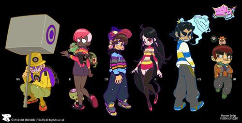 Character Design - illustration n° 01