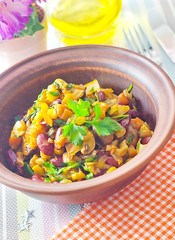 lunch cuisine bacon stuffed healthy corn chili dish oven sweet sauce ...