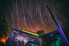 Stars Behind The Barn (candersonclick) Tags: travel family home night star nikon angle wide trails nocturne leroy 1635 travelphotography d4s nikond4s