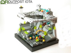 Outpost Iota (Dead Frog inc.) Tags: monster rock underground lego teal space best whatever hq base raiders headquarter brickr