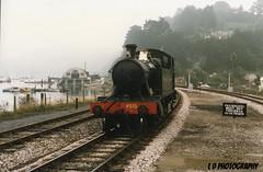 img663 (lesleydoubleday) Tags: railway loco steam gwr 4555 paigntonanddartmouthrailway uksteam prairietank