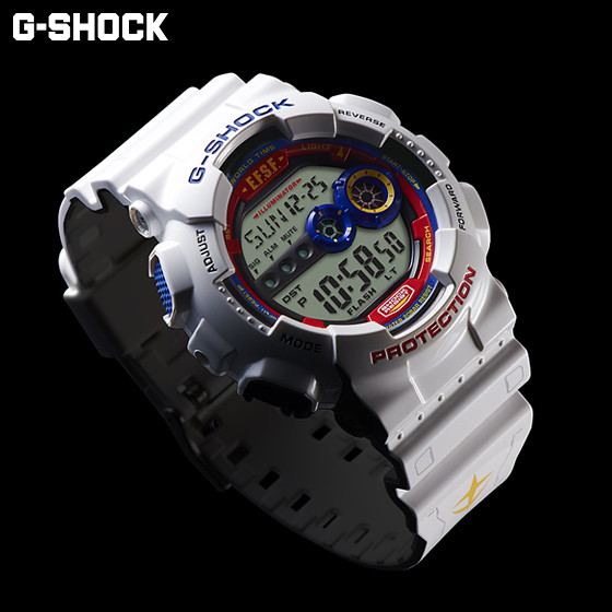 《機動戰士鋼彈》35週年紀念商品 G-SHOCK × GUNDAM