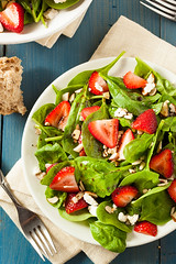 Organic Healthy Strawberry Balsamic Salad (brent.hofacker) Tags: summer food green vegetables fruit cheese lunch leaf salad healthy strawberry berry raw walnut tasty vegetable fresh dressing gourmet delicious lettuce meal greens vegetarian appetizer nut diet balsamic oliveoil herb savory spinach nutritious appetizing fetacheese strawberrysalad spinachleaves strawberrybalsamicsalad