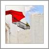 Die Sonne geniesen  (Enjoy the sun) (alfred.hausberger) Tags: rot umbrella spain andalusia andalusien spanien sonnenschirm frigiliana updatecollection