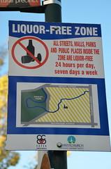 Pas d'alcool dans le centre de Christchurch !