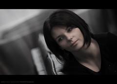 Just a simple portrait (Sylvain_Latouche) Tags: light shadow portrait dawn eyes nikon mood ambientlight d7000 sylvainlatouche