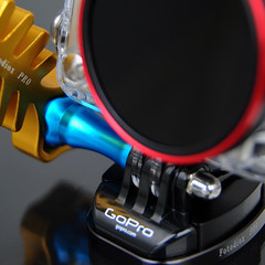 WonderPana Go Detail (FotodioxPro) Tags: aluminum uv nd extremesports wrench cpl durable productphotography actioncam gopro hero3 tripodmount multiplecolors fotodiox adventuregear fotodioxpro quickreleasemount gopromount goprorig gotough goprofilter filterforgopro allmetalthumbscrew
