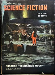 "Astounding Science Fiction (July, 1950). Photo from movie ""Destination Moon"" (lhboudreau) Tags: magazine pulpfiction sciencefiction pulp magazines movieset 1950 pulpmagazine magazinecover magazinecovers astounding pulpmagazinecovers motionpicture robertaheinlein destinationmoon pulpart photocover pulpmagazines astoundingsciencefiction july1950 pulpmagazinecover astoundingmagazine magazinecoverart sciencefictionstories digestsize astoundingsciencefictionmagazine"