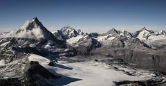 Matterhorn (Der Sonnenanbeter) Tags: panorama mountain mountains alps landscape switzerland view berge matterhorn alpen landschaft