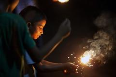 Tara-Bati (Ferdousi.) Tags: light boy festival children fireworks moment gettyimage chidhood ferdousi tarabati shabebarat fuljhuri