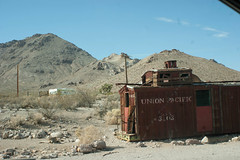 Union Pacific (Housetier84) Tags: usa death town pacific sony nevada ghost union railway 350 alpha vally alpha350