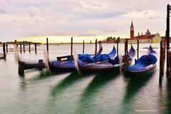 gondola le (Rex Montalban Photography) Tags: longexposure venice italy europe le gondolas rexmontalbanphotography