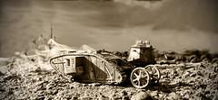 Le_Hamel (Gavin.Haberfield) Tags: world scale model war tank mephisto armour diorama worldwar1 scalemodel tankbattle lehamel