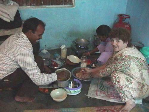 Mom in David's Kitchen