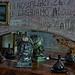 Mussolini relic in 'Bar Furlo'