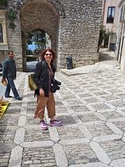 Tammy at Erice (chromonster) Tags: italy italia sicily sicilia erice