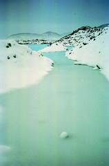 blue lagoon (asketoner) Tags: blue winter snow storm island iceland sunday lagoon pools keflavik deserted islande isklandi