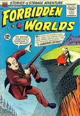 Forbidden-Worlds-122 (Michael Vance1) Tags: sf art comics weird artist aliens adventure comicbooks comicstrip sciencefiction monsters supernatural cartoonist anthology suspense silverage