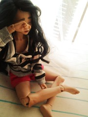 Wake Up Call 3 (hoolyguun) Tags: bjd hybrid msd unoa recast leekeworld minifee