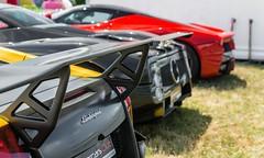 Murcielago SV, Zonda F, LaFerrari. (JayRao) Tags: classic nikon july ferrari f shows hybrid lamborghini supercar lemans sv zonda murcielago pagani 2014 jayr d610 hypercar superveloce laferrari lp670