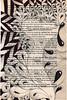 regret (Jo in NZ) Tags: blackandwhite drawing foundtext foundpoetry zentangle nzjo