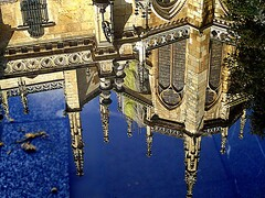 Reflection on the floor of the pinnacles of the Cathedral of Leon. (Bernardo del Palacio) Tags: santiago reflection reflections photographer screensaver quality catedral ciudad leon santiagodecompostela reflejo excellent awards reflexions soe reflejos reflects rosepetal smörgåsbord naturesfinest dinnerandamovie blueribbonwinner rosetón eow mouseion reflejada digitalcameraclub supershot 5photosaday flickrsbest topseven golddragon abigfave platinumphoto anawesomeshot colorphotoaward impressedbeauty ultimateshot visiongroup flickrplatinum superbmasterpiece flickraward infinestyle diamondclassphotographer theunforgettablepictures brillianteyejewel adoublefave platinumheartaward betterthangood goldstaraward unlimitedphotos academyofphotographyparadiso thebestpicturegallery rubyphotographer flickrbestpics qualitypixels goldenheartaward 100commentgroup berpala top20travelpix reflejoscatedraldeleón saariysqualitypictures flickrsmasterpieces updatecollection awardreflections luxtop100