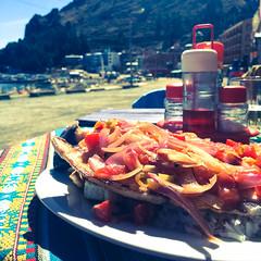 Lunch in Copacobana