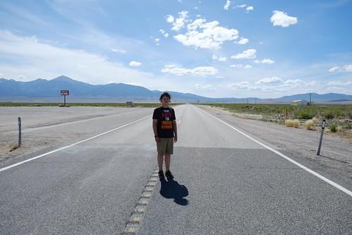On the Utah-Nevada border