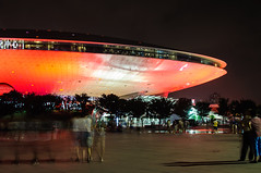 Let's board the UFO (David Baggins) Tags: longexposure shanghai  mercedesbenzarena