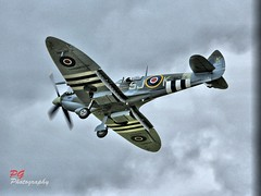 SPITFIRE (paul giles1) Tags: clouds canon paul photography engine merlin ww2 spitfire giles hdr raf 55250
