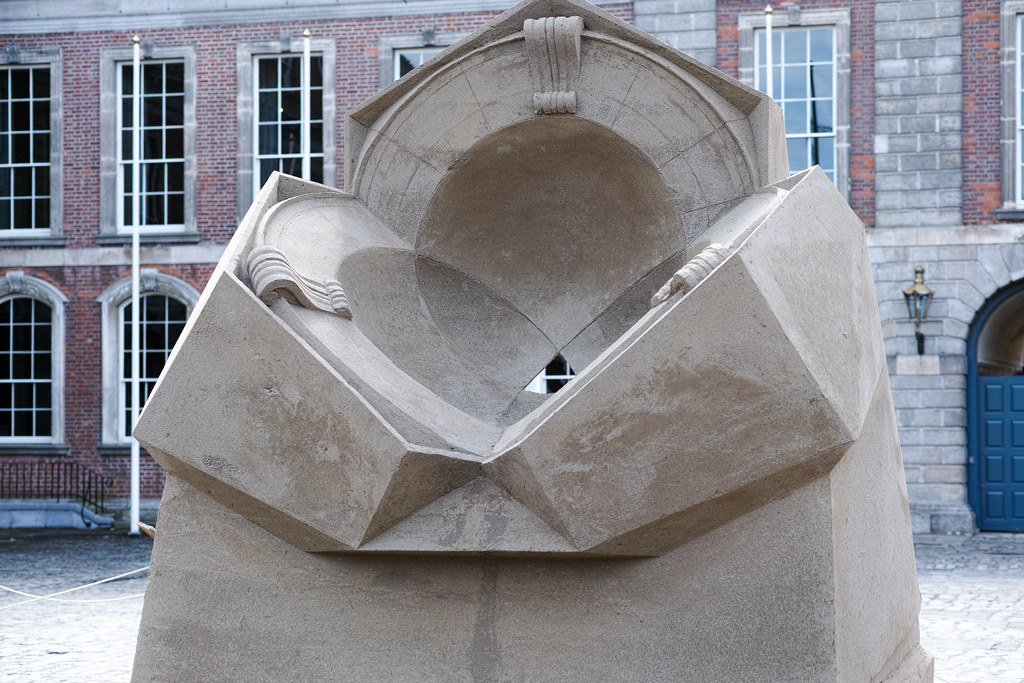 Dublin Castle Sand Sculpture Exhibition 2014