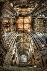 Chester Cathedral (Mark Carline) Tags: cheshire cathedral fisheye chester hdr